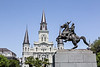 Cathedral of the St louis; Jackson Square; Louisiana; New Orleans; USA; Major General Andrew Jackson