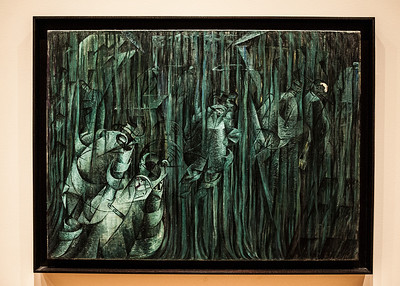 States of Mind III: Those Who Stay Umberto Boccioni