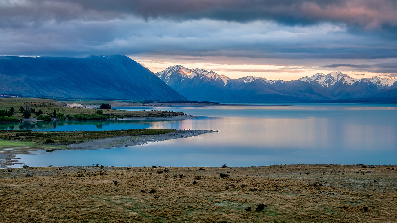 Clouds over Lake Alexandrina