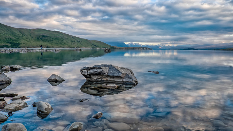 Lake Tekapo early morning