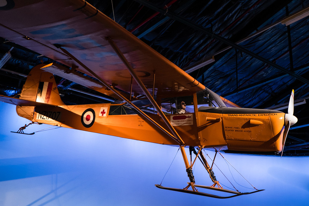 Antartic expedition Auster Mk7C Air Force museum of NZ, Wigram