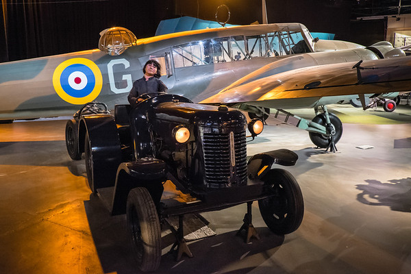 Avro Anson at the Air Force museum of NZ, Wigram