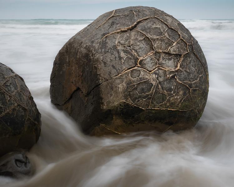 Moeraki boulders, Moeraki, New Zealand