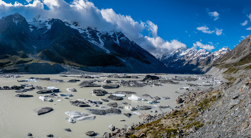 Hooker Lake, Mount Cook National Park