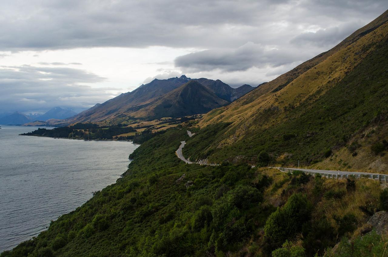 Lake Wakatipu Drive on the Way to Dart River