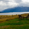 Fiordland Lodge View of Lake Te Anau, New Zealand