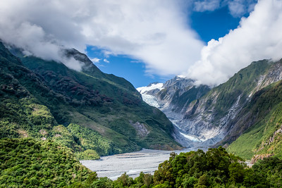 Fran Josef Glacier, New Zealand