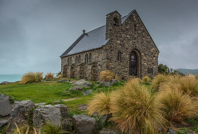 Church of the Good Shepherd.  Lake Tekapo, New Zealand