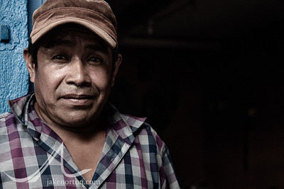 Portrait of a Mayan man near Lake Atitlan, Guatemala.