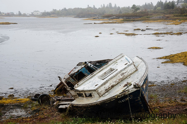 Abandoned Boat Nova Scotia