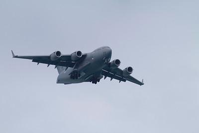 Air Force C-17 at Kaneole Bay Marine Corps Base IMG_0422
