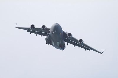 Air Force C-17 at Kaneole Bay Marine Corps Base IMG_0438