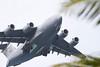 Air Force C-17 at Kaneole Bay Marine Corps Base IMG_0436