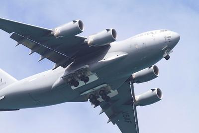 Air Force C-17 at Kaneole Bay Marine Corps Base IMG_0424