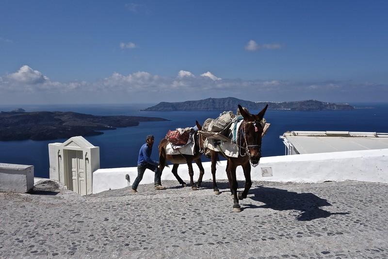 in Fera, Santorini