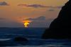 Sunset at Bandon Beach Sea Stacks