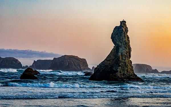 USA; Oregon; Bandon
