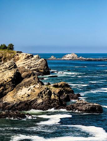 USA; Oregon; Charleston; Shore Acres State Park