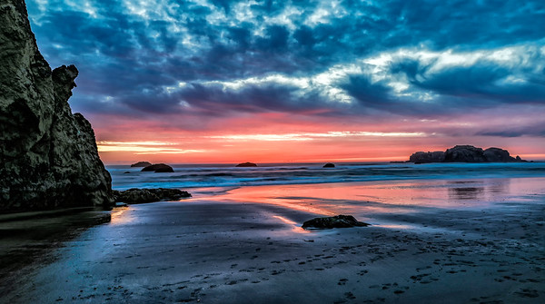 USA; Oregon; Bandon