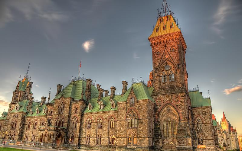 Canadian Parliament Buildings - East Block (Front)