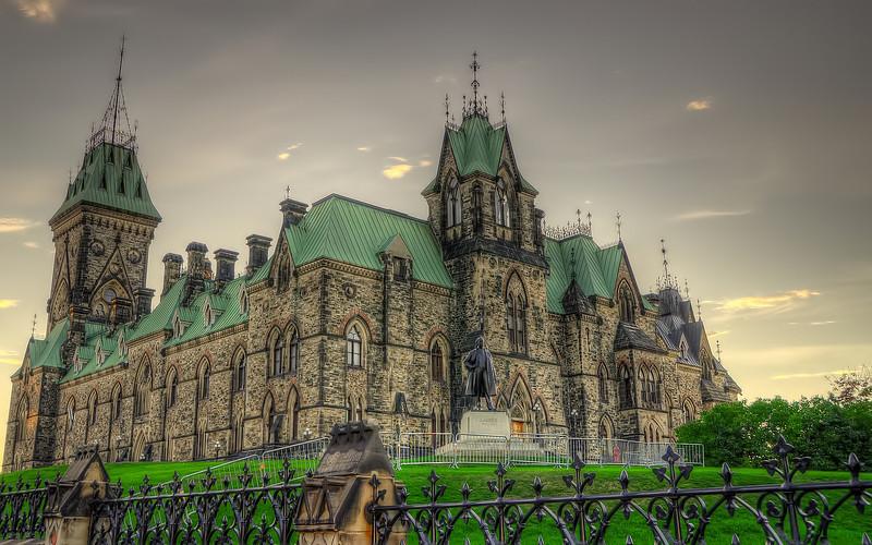 Canadian Parliament Buildings - East Block (Rear)