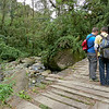 Serious discussions, Volcan Baru Hike