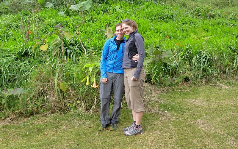 We're finished! Volcan Baru Hike