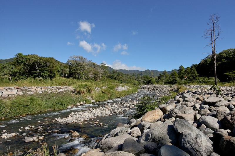The Caldera river, which runs through the middle of the Boquete area