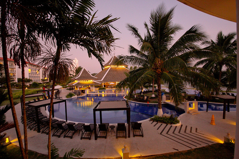 Playa Bonita at dusk