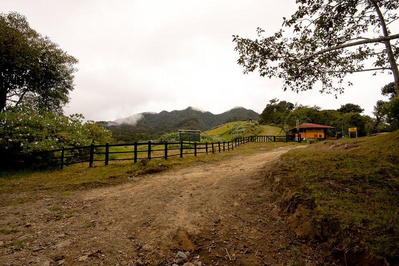 Ranger station for the Volcan Baru park