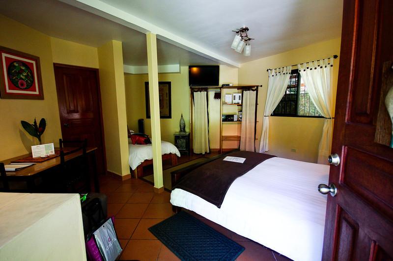 Hotel room at the Boquete Garden Inn