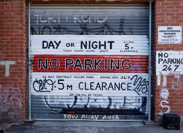 Grafitti garage