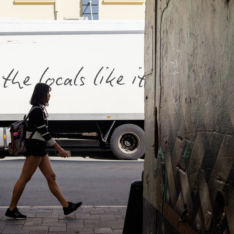 The locals like it - Perth