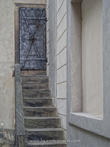 Steps to nowhere near Prague castle