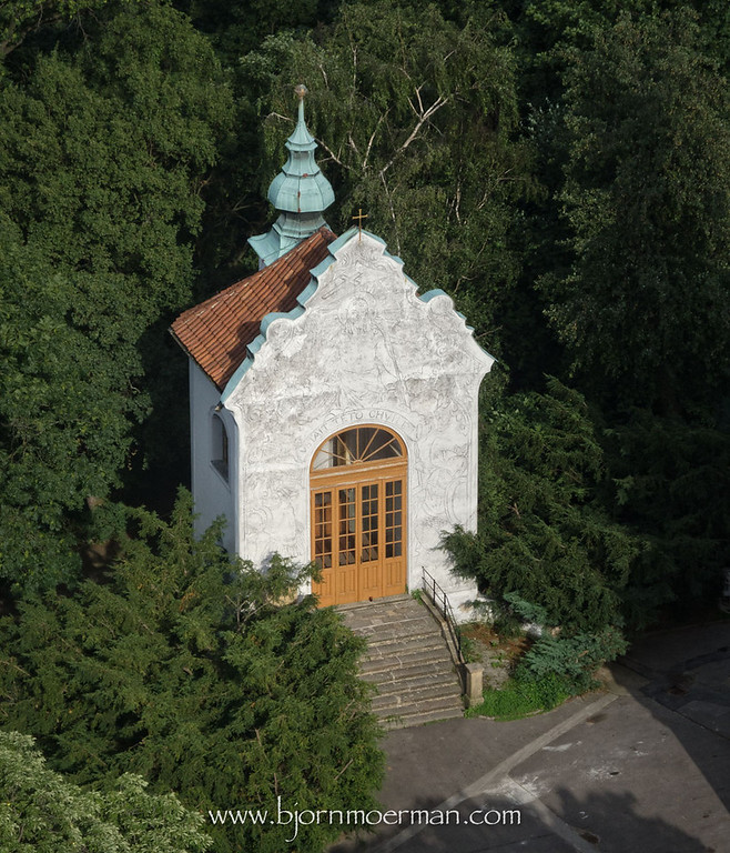 Chapel near the Petrin view tower
