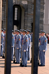 Prague Castle - Changing of the Guard