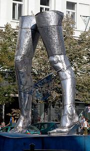 Art in Wenesclas Square