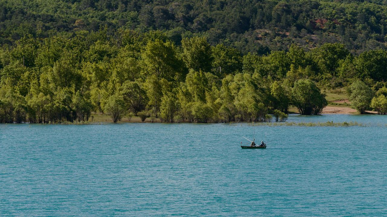 Fishing on Lake Saint Croix