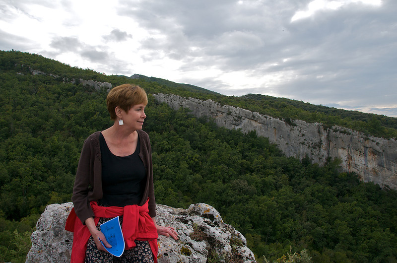 Faithie at Fort de Buoux