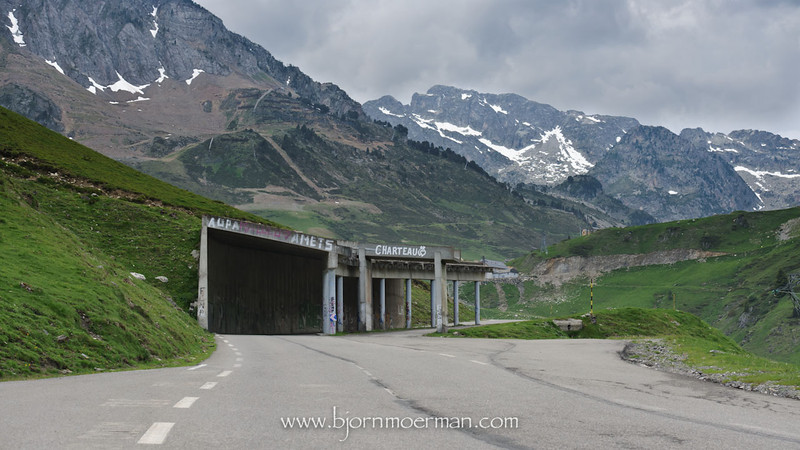 Route to La Mongie, Tourmalet