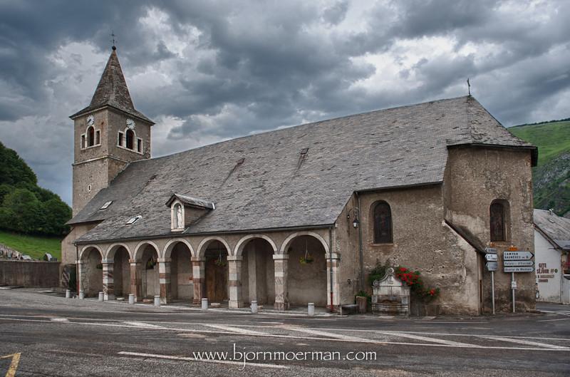 St Marie de Campan church