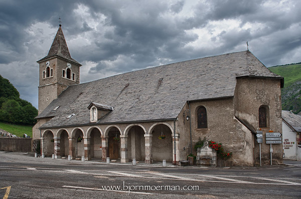 St Marie de Campan church
