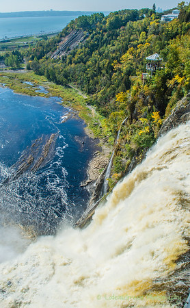 Above Montmorency Falls,