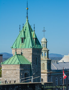 Old Quebec Skyline