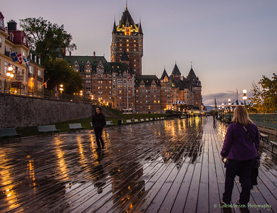 Evening Sets on the Frontenac.