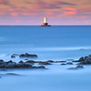 Sakonnet Lighthouse Sunrise from Little Compton Rhode Island