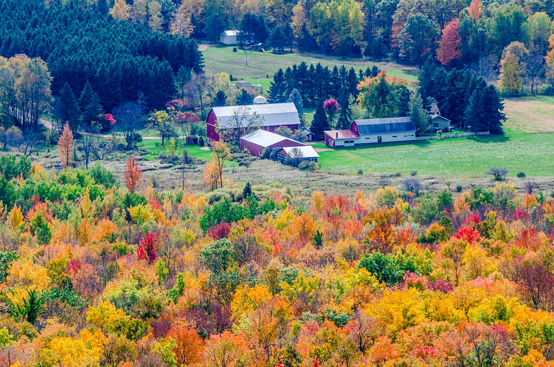 Rib Mountain Farm View