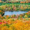 Rib Mountain Colorful Lake View