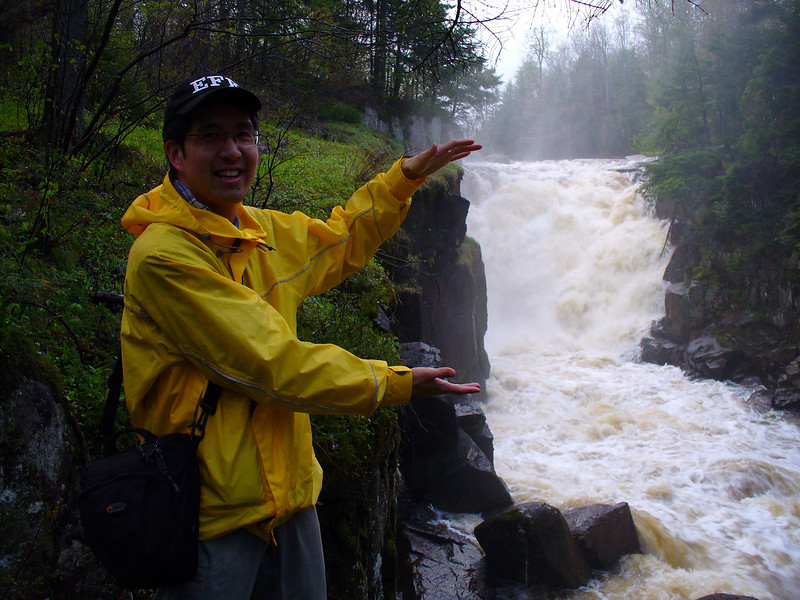 How big is this waterfall really...