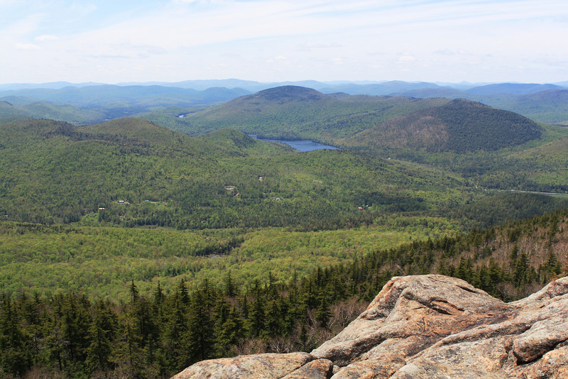 A grand view from the summit of Crane Mountain